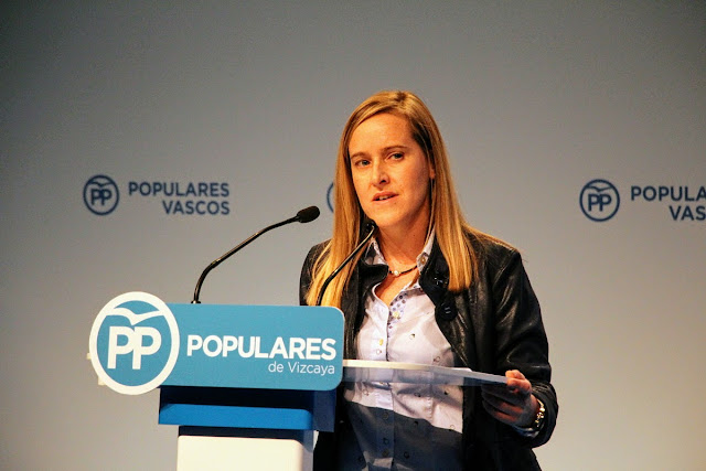 La portavoz del PP de Barakaldo, Amaya Fernández