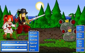 Game Epic Battle Fantasy Screen Shoot 1