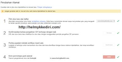 Cara mengalihkan dan redirect backlink blog