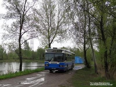 Scania CN113CLL, MPK Kraków, przejazd specjalny