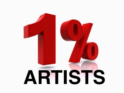 1 percent artists image