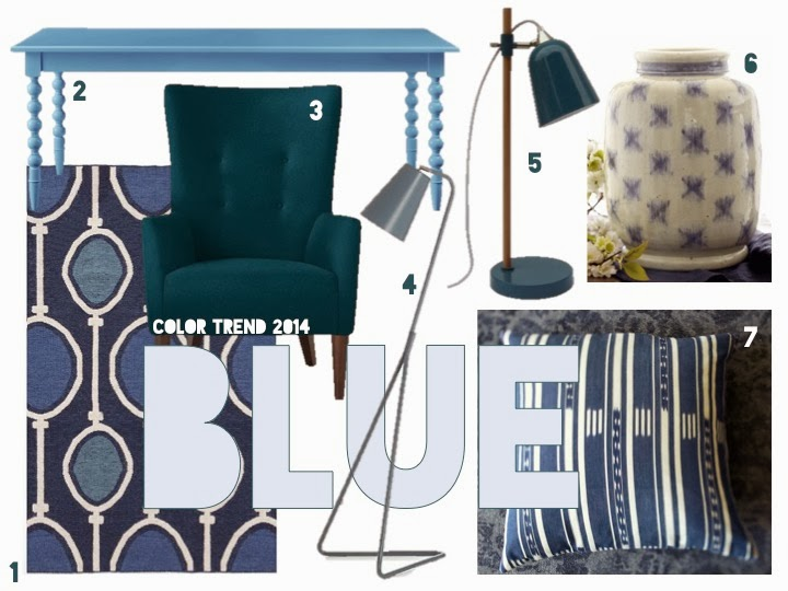Get Stylin With Pantone S Top 6 Trending Colors For 2014: Carpe Diem Design : Color Trend 2014