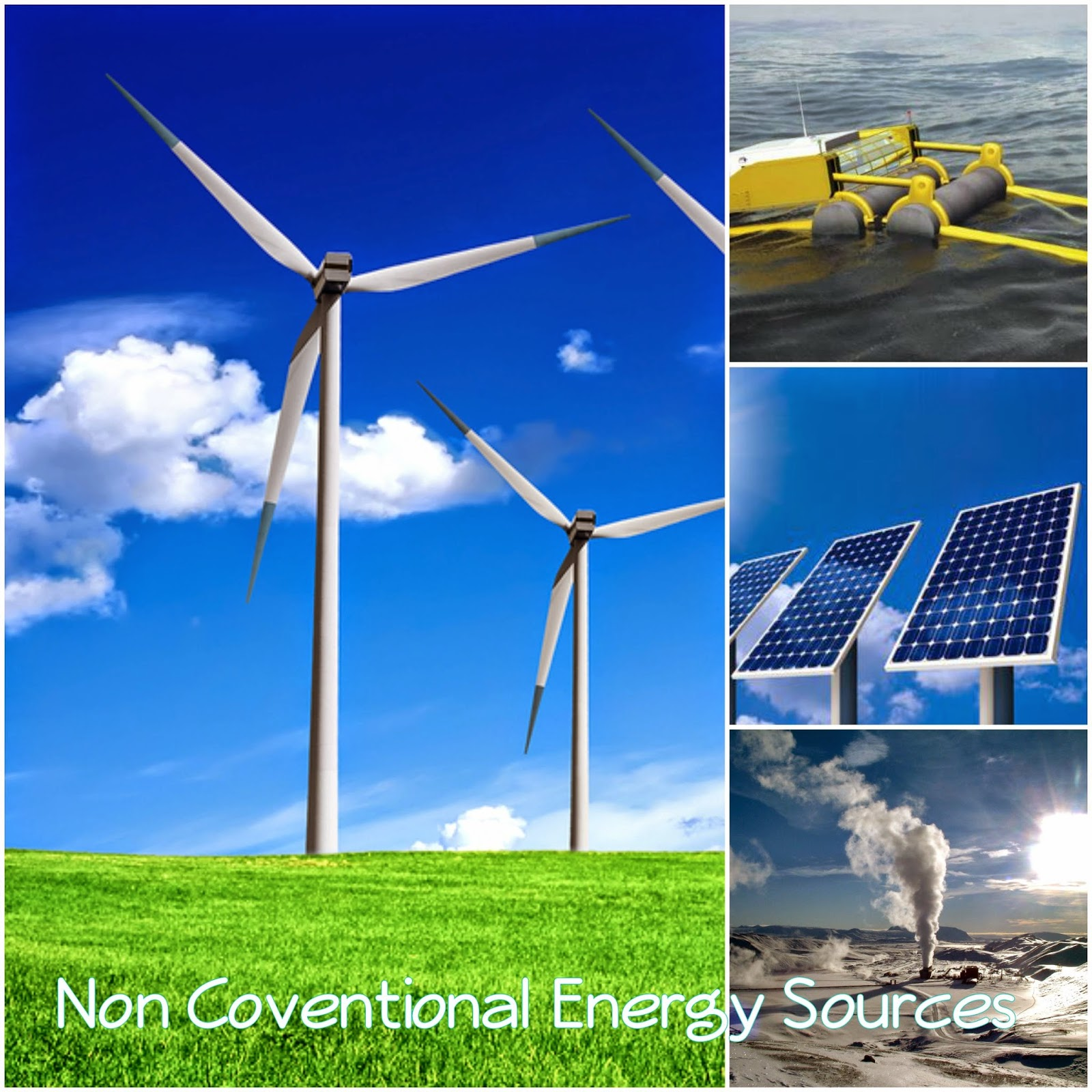 Types Of Non Conventional Sources Of Energy Types Of Non