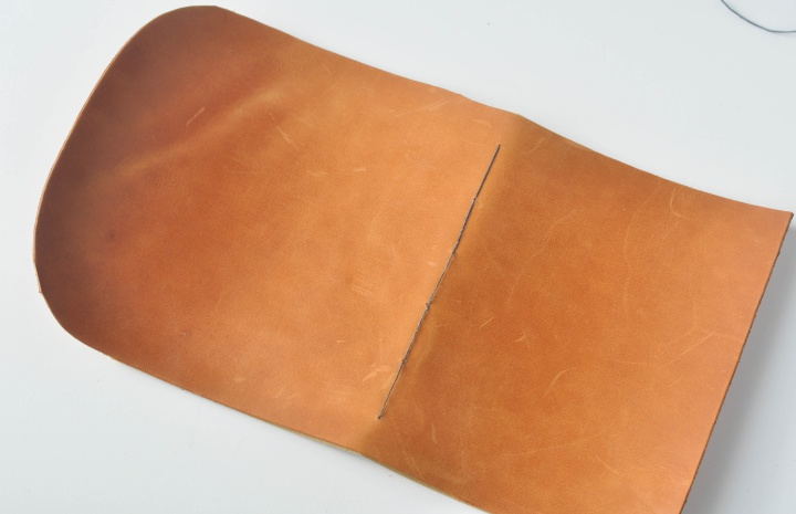 DIY Leather Notebook - How to, part 11
