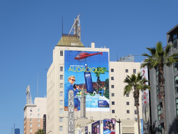 Skyy Vodka Make Every day Audacious billboard