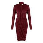 WRAP DRESS IN RED. SALE PRICE $39.99**