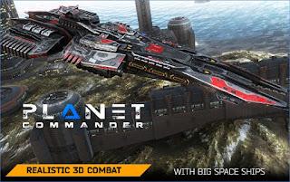 Planet Commander Mod Apk v1.1 Unlimited Money