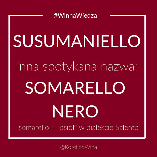susumaniello - gdzie się je uprawia, czym się charakteryzuje i jak smakuje.
