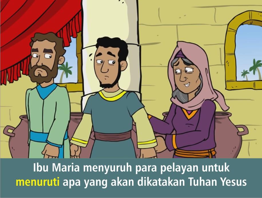 Komik Alkitab Anak Tuhan Yesus Mengubah Air Menjadi Anggur - Perkawinan Di Kana Alkitab, Perkawinan Di Kana Wikipedia Bahasa Indonesia Ensiklopedia Bebas