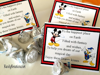 Announce a surprise trip to Disney on National Kiss day with this fun Disney Kiss bag topper.  With a unique poem, this printable will bring magical Disney Wishes and Kisses into your home.