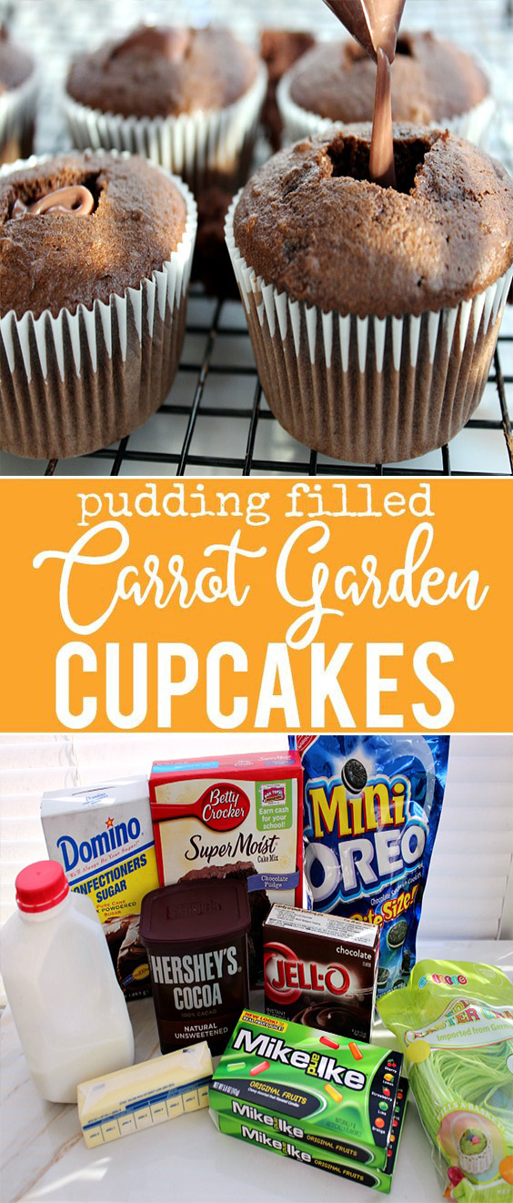 Carrot Garden Cupcakes Recipe