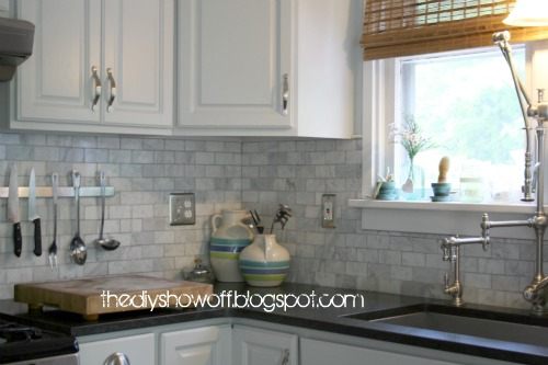 Kitchen Cabinet Trim Installation French Style Furniture Before And After Farmhouse Makeoverdiy Show Off ...