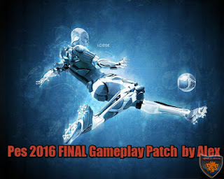 PES 2016 Final Alex Gameplay Patch