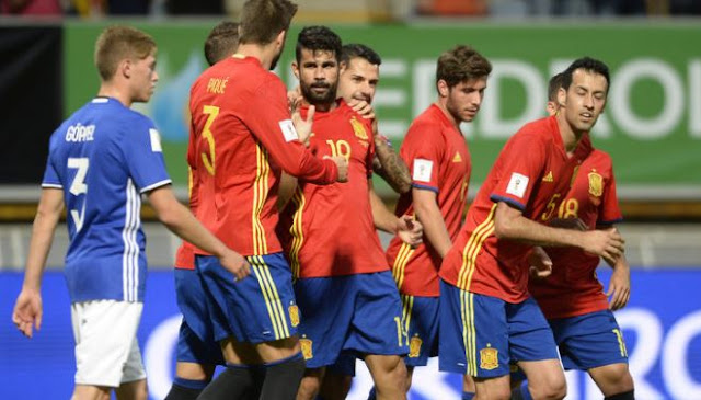 Liechtenstein 0 vs 8 Spain -  Watch Highlights and Goals Here