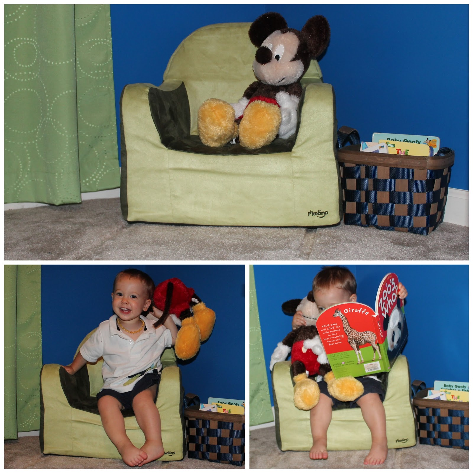 P Kolino Little Reader Toddler Chair Fit4aprincess