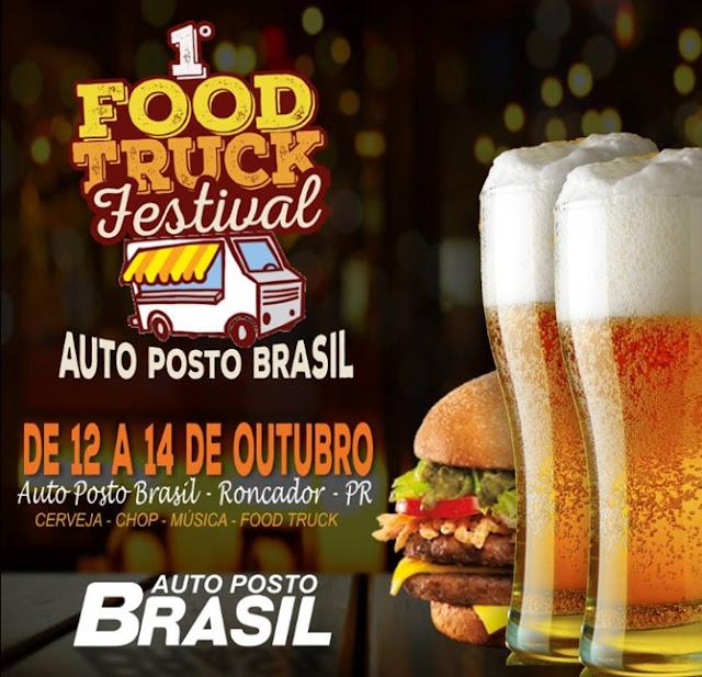 Em Roncador, 1º Food Truck Festival!!