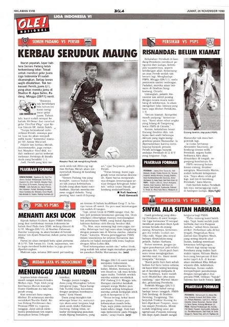 SEMEN PADANG VS PERSIB KERBAU SERUDUK MAUNG
