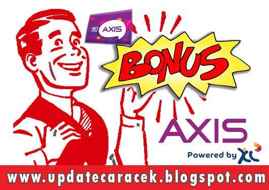 gambar cara cek bonus axis xl terbaru