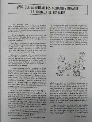 """Artículo del primer número de la revista """"Estaya"""""""