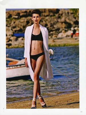 Amra Cerkezovic - Harper's Bazaar Russia - June 2013