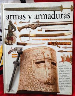 Portada del libro Armas y armaduras, de Michèle Byam