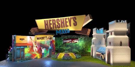 Hershey's Mais marca presença na CCXP 18 com estande interativo