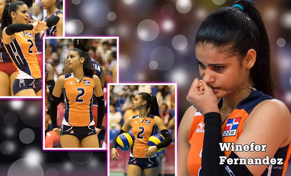 WAGs and Sport Beauties: Winifer Fernandez Gorgeous