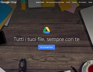 Foto su Google Drive