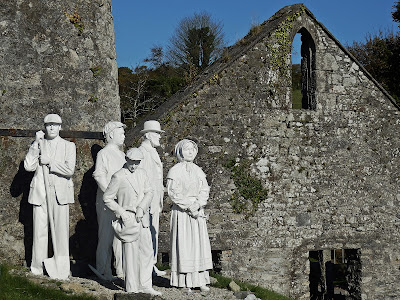 China clay workers Cornwall
