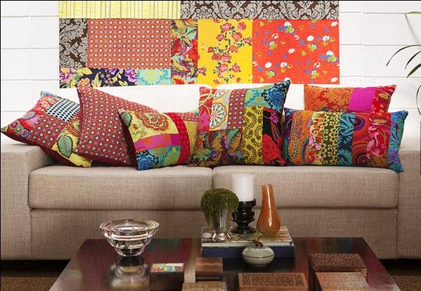 Resultado de imagem para decoração com almofadas no chão