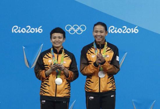 Wang Tunai RM1 Juta dan Pencen RM5 Ribu Untuk Pemenang Pingat Olimpik 2016