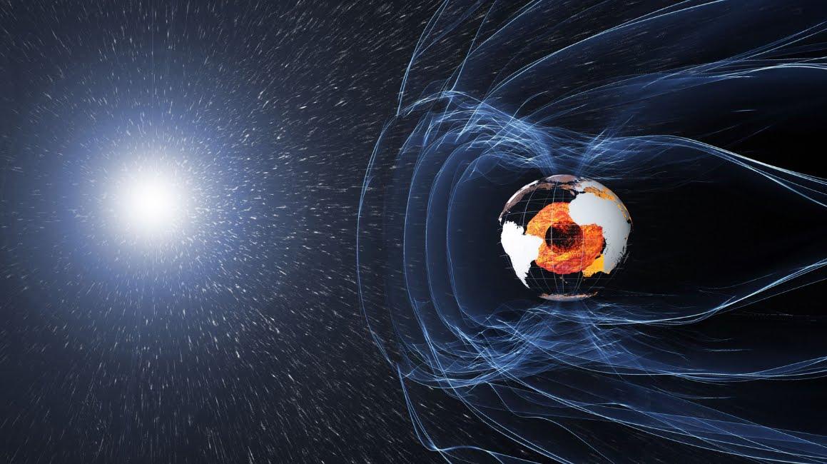 Inversione magnetica della terra anticipata nelle previsioni.