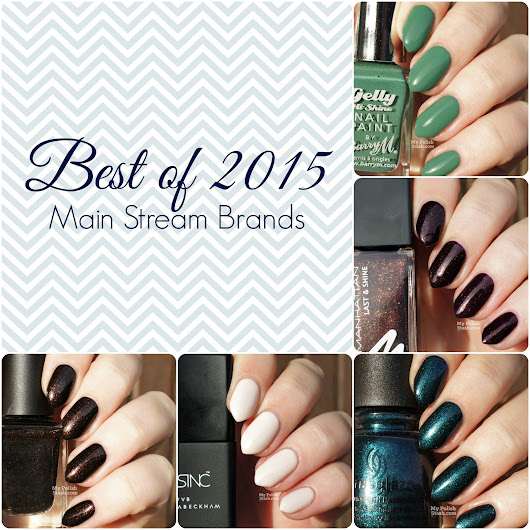 Best of 2015 - My Favorite Main Stream Nail Polishes