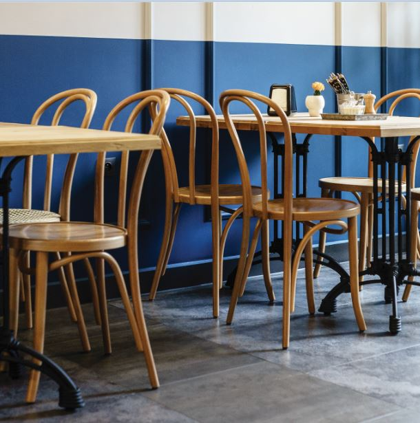 The original Cafe side chair: functional, comfortable and timelessly elegant.