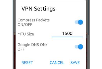 cara setting VPN dan mengaktifkannya