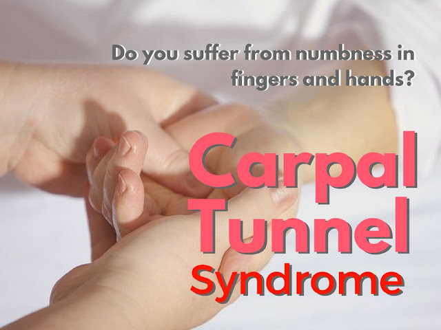 carpal tunnel syndrome numbness in fingers and hands