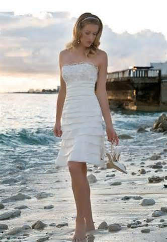 Short Beach Wedding Dress Under $500 | wedding bridal trend