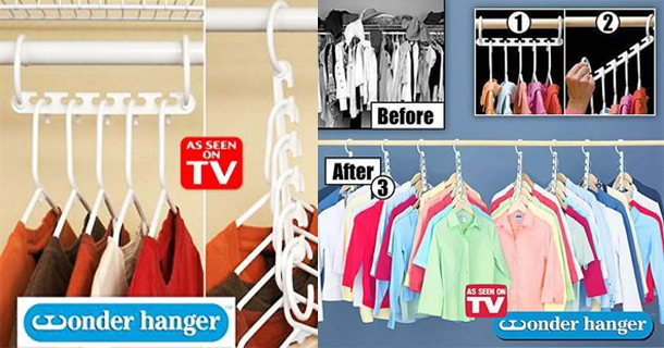 Wonder Hangers Are The Perfect Space Saving Solution Designed To Instantly Triple Your Closet This Innovation Allows You Hang Clothes In A