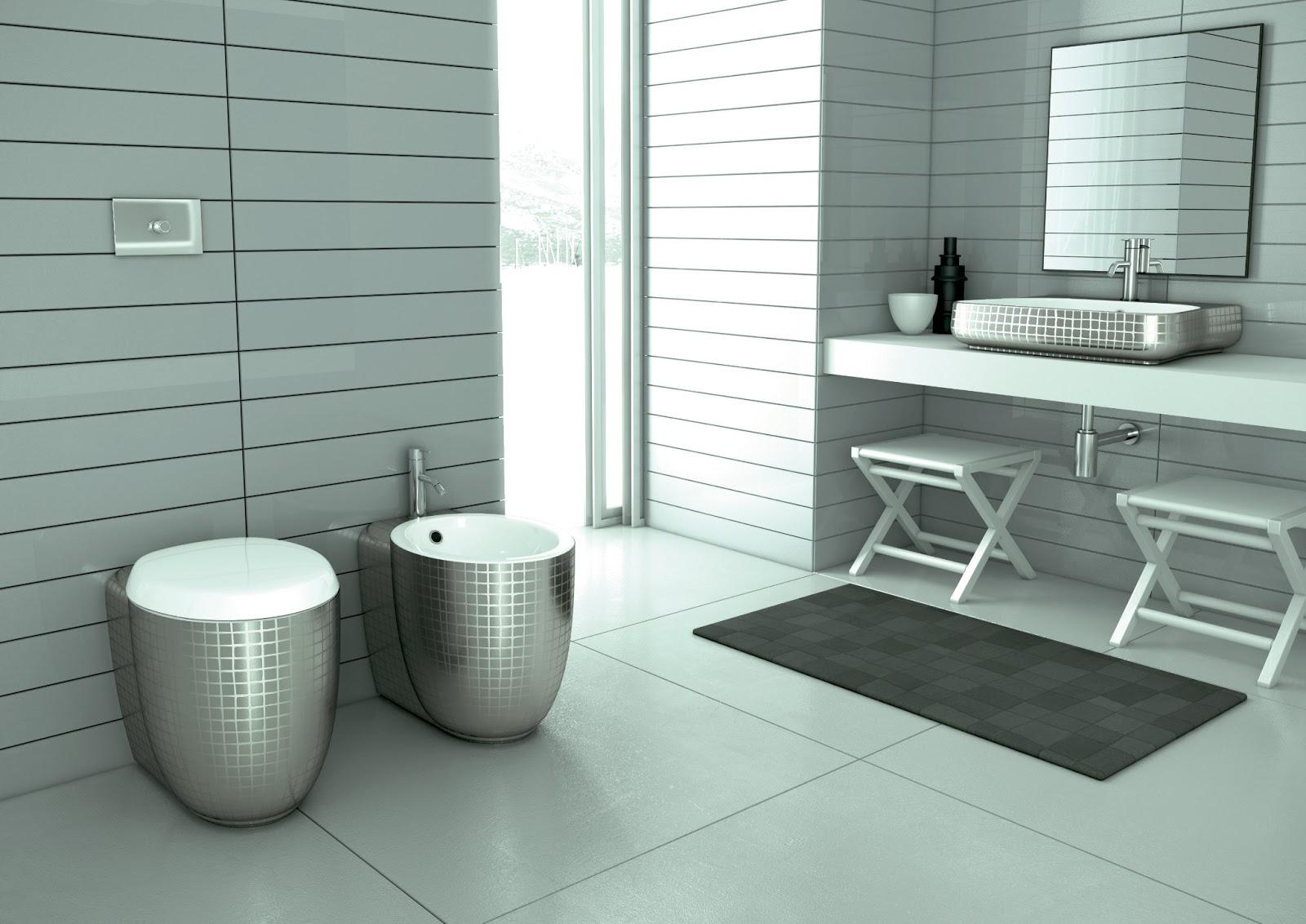 La casa rosso papavero un bagno per uomini veri for Sala da bagno design