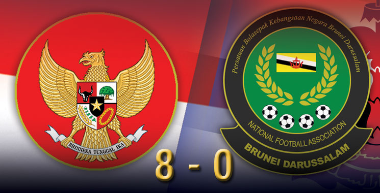 Indonesia 8 - 0 Brunei, Garuda Muda Dipastikan Masuk Semifinal