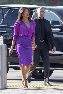Priyanka Chopra in Beautiful Purple at universal studios ~ .xyz Exclusive 004.jpg