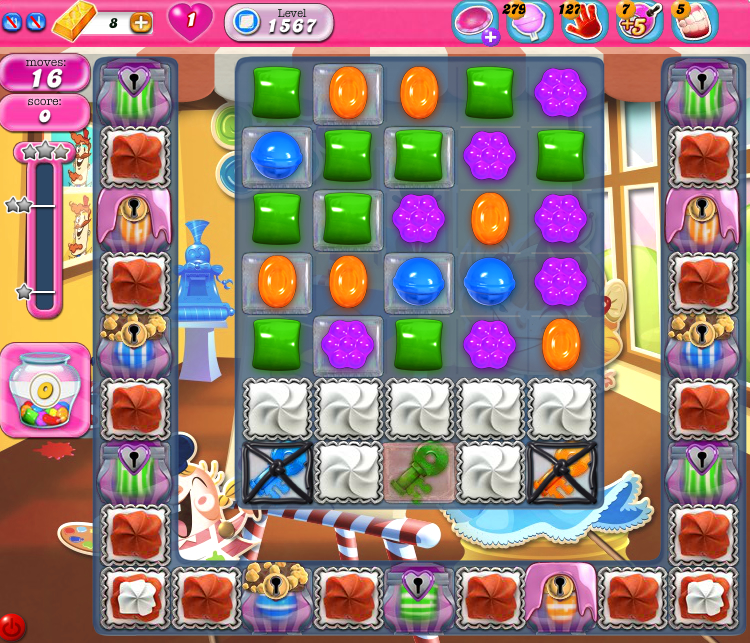 Candy Crush Saga 1567