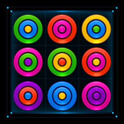 تحميل لعبه Color Rings Puzzle v2.1.3 مهكره وجاهزه لاجهزه الاندرويد