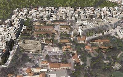Αποκατάσταση τριών κτηρίων του πρώην 401 Στρατιωτικού Νοσοκομείου
