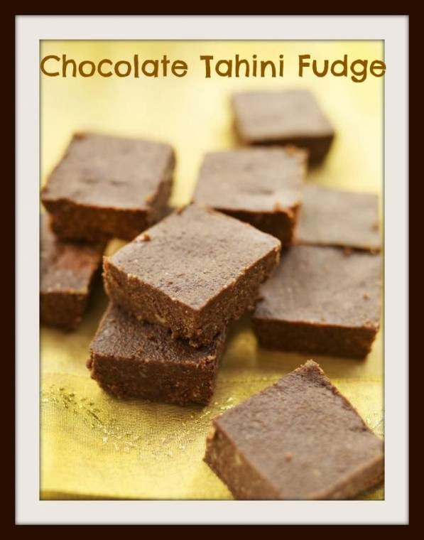 Chocolate Tahini Fudge: A Recipe To Try Out Right Now