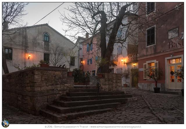 Grisignana piazza