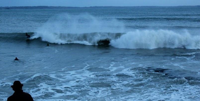 Rozgniewany ocean / Le Trez-Hir à l'épreuve des vagues