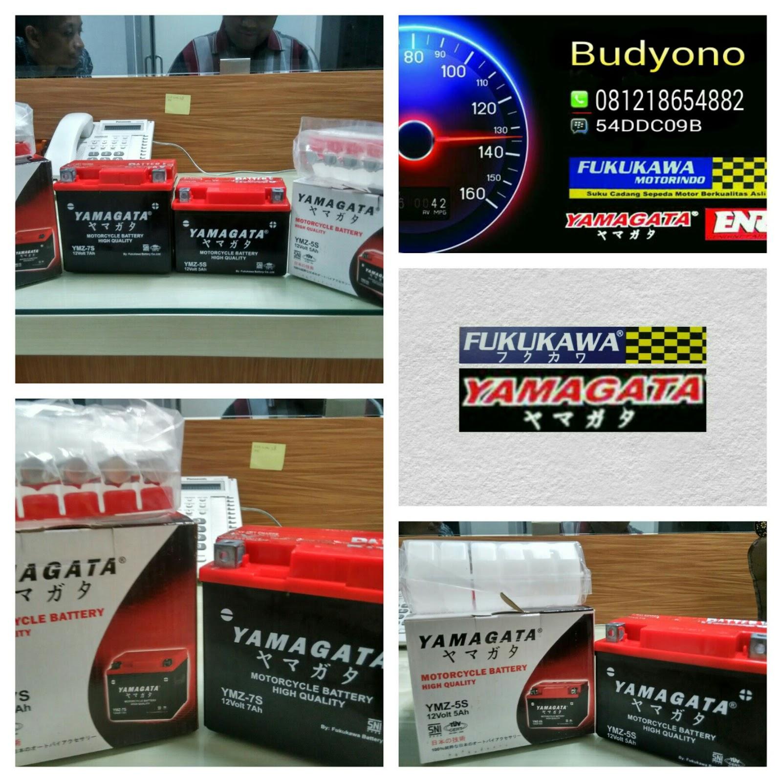 Spare part Motor FUKUKAWA,YAMAGATA dan ENR: BATERRY