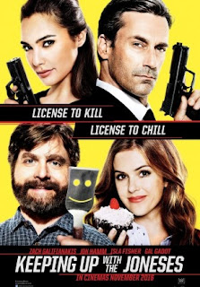Keeping Up with The Joneses (2016) Full Movie