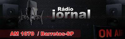Logotipo da Rádio Jornal de Barretos